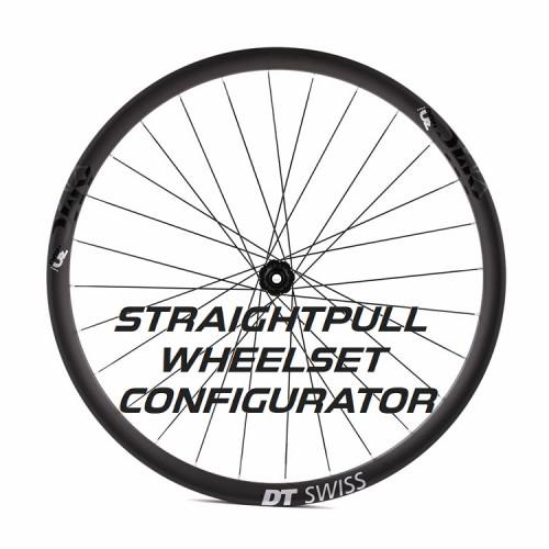 Custom Handbuilt Straightpull Wheelset Configurator