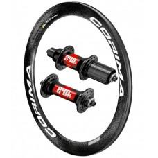 CORIMA 58mm Carbon Tubular / DT Swiss 240s 1440g wheelset