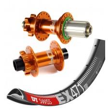 """DT Swiss EX471 27,5"""" 650b / Hope Pro 4 wheelset 1795g"""