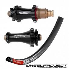 "DT Swiss MTB 29"" wheelset with Extralite Straightpull hubs"